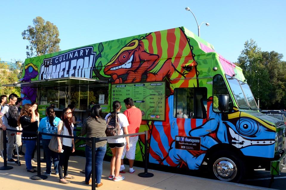 food truck di luar negeri