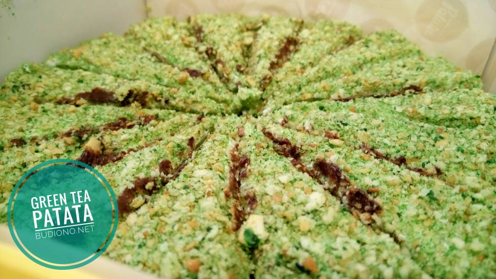 green tea patata