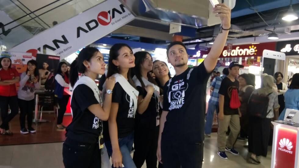 selfie dengan advan g1 pro
