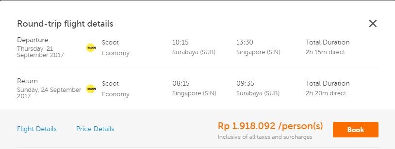 tiket pesawat singapura