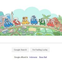 google doodle hari ini mudik lebaran 2018