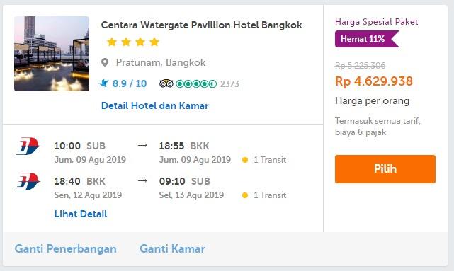 pesan kamar hotel dan pesawat traveloka