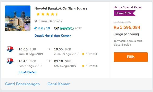 pesan pesawat dan hotel traveloka